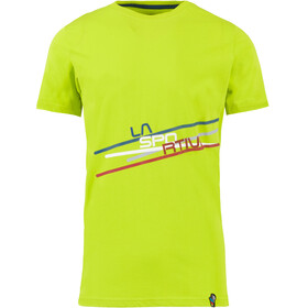 La Sportiva Stripe 2.0 T-Shirt Men Apple Green